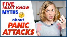 5  PANIC ATTACKS MYTHS  | Kati Morton