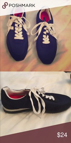 1e63eacd2fa0 Navy Sneakers Classic navy tennis shoes Tommy Hilfiger Shoes Sneakers Tommy  Hilfiger Shoes