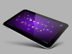 The world's largest tablet... Toshiba Excite.