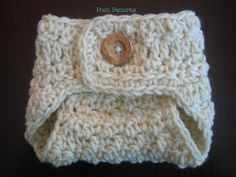 Crochet PATTERN Diaper Cover Baby Seed Stitch Soaker PDF 285 - Newborn to 3 Months - Permission To Sell Finished Items - Photography Prop. $3.99, via Etsy.