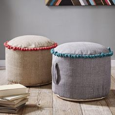 West Elm offers modern furniture and home decor featuring inspiring designs and colors. Create a stylish space with home accessories from West Elm. West Elm, Floor Pouf, Floor Cushions, Furniture Sale, Modern Furniture, Toy Rooms, Room Accessories, Sisal, Chairs