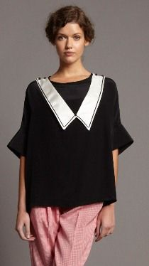 Silk Sailor Tunic from Colenimo