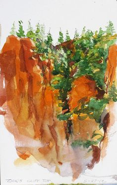 Hanging-valley-Zions by Spencer Mackay, via Flickr