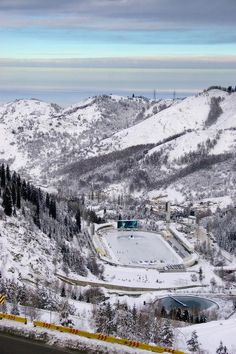 The Medeu Alpine Ice Arena, Almaty, Kazakhstan. The Asian Winter Games were held here in 2011. The Asian Winter Games is a multi-sport event held every four years for members of the Olympic Council of Asia (OCA) which features winter sports. (V)