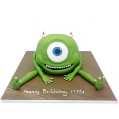 #Monsters Inc Mike #PartyCake