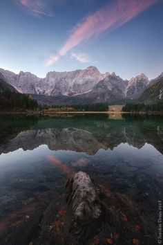 Fusine Lakes, Friuli-Venezia Giulia, Italy