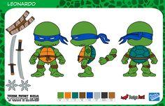 Teenage Mutant Ninja Turtles Mini Figures