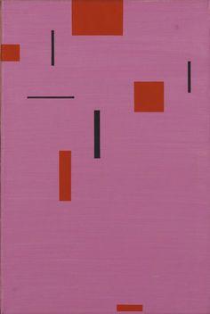 Friedrich Vordemberge-Gildewart, Composition No 204, 1954-55