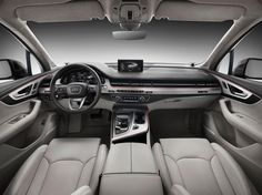 2015 Audi Q7 Dashboard Interior - wallpaperxy.com #audiQ7 #audi