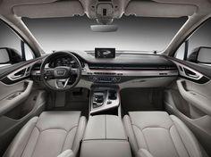 Audi Q7 2015 - official - cabin