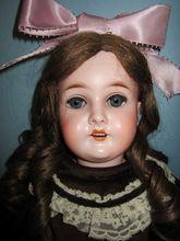 "25"" Queen Louise Antique German Armand Marseille Doll"
