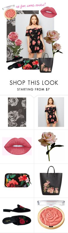"""ROSE ME UP"" by taliafzl ❤ liked on Polyvore featuring PBteen, New Look, Abigail Ahern, Vera Bradley, MANGO and Milani"