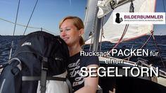 Packanleitung: Rucksack PACKEN fürs SEGELN   PACKLISTE Segeltörn  