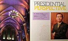 Presidential Perspective: Mr Hidehiko Tanaka, president of Nikon UK talks to Simon Stafford about his aims and aspirations for Nikon... and why he photographs seagulls. (Nikon Owner magazine, issue 46, pages 36-37) http://blog.graysofwestminster.co.uk/2014/06/06/nikon-owner-magazine-issue-46/