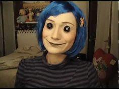 Coraline!!!!!!!!!!! Halloween makeup. So CREEPY!! Love this