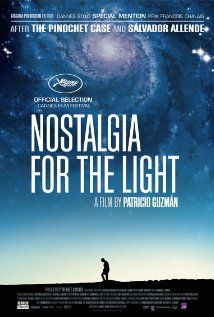 DONE Nostalgia for the Light (2010) - a beautifully told story parallels astronomic research in the driest place on Earth - Chilean Atakama desert - with people's search for truth about the crimes of Pinochet regime. Highly recommended.