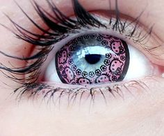 #HelloKitty Contact Lenses