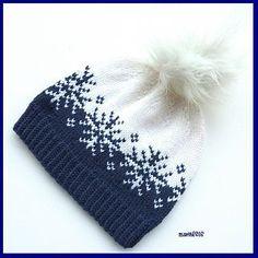 knit hat english Vinterstormlua/Winterstorm hat pattern by MaBe Fair Isle Knitting Patterns, Knitting Charts, Loom Knitting, Baby Knitting, Crochet Patterns, Hat Patterns, Free Knitting, Stitch Patterns, Knitting Machine