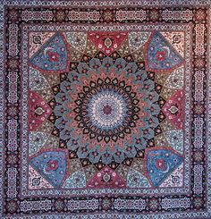 A Tabriz rug/carpet is a type in the general category of Persian carpets from the city of Tabriz, one of the major cities of Iran, and the capital city of East Azarbaijan Province of Iran. It is one of the oldest rug weaving centers and makes a huge diversity of types of carpets.