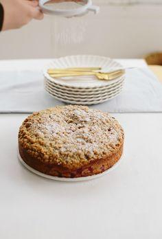 triple ginger coffeecake