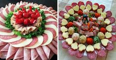 Aperitive Archives - Page 5 of 9 - Bucatarul Finger Food Appetizers, Finger Foods, Appetizer Recipes, Sandwich Platter, Cold Cuts, Meat And Cheese, Ideas Para Fiestas, Cheese Platters, Charcuterie