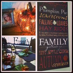 pinterest autumn craft ideas | Fall Decorating Ideas...
