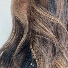 Gorgeous Chocolate brown highlights for naturally black hair types / Asian Indian Hispanic ethnic hair color / virgin hair