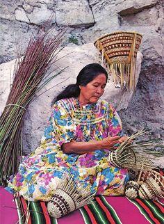 by Old Chum, via Flickr /Western Apache Basket Weaver.