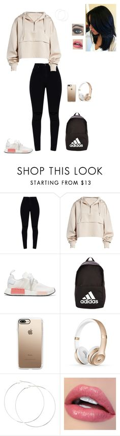 """🚨"" by faithanjel ❤ liked on Polyvore featuring Ivy Park, adidas Originals, adidas and Casetify"