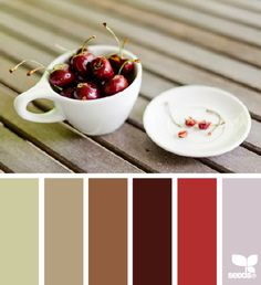 This is from a website, good ideas. My name: Cherries on a porch - good color mixture