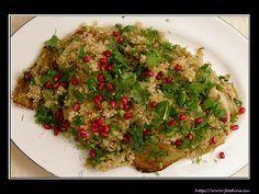 Fenchel-Quinoa-Granatapfel