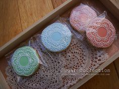 lace doilies cookies