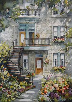 norma bradley-walker watercolors - Google Search