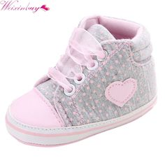 First Walkers 100% Quality Polka Dot Cotton Fabric First Walker Gary Color Shoes Handmade Woven Butterfly-knot Baby Girl & Baby Boy Cake Shoes For Newborn Baby Shoes