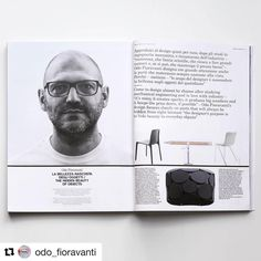We join the happiness and the excitement of Odo Fioravanti for his interview on the September issue of @domusweb