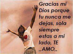 Gracias mi Dios ...