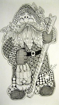 My Christmas Collection - LeeAnn's Zentangle-ing Fun