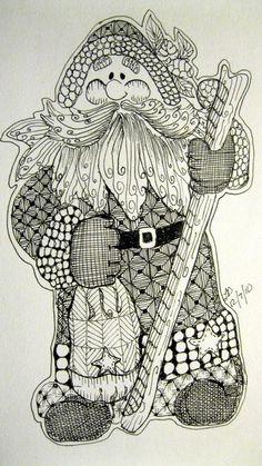 My Christmas Collection - LeeAnn's Zentangle-ing Fun