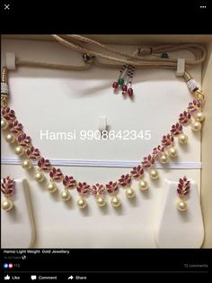 Gold Jewelry For Wedding Ruby Jewelry, Beaded Jewelry, Jewelery, Jewelry Bracelets, Bead Jewellery, Beaded Necklaces, Silver Jewellery, Jewelry Sets, Diamond Jewelry