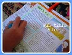 Using text mapping to help understand expository texts