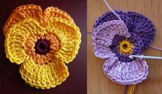 foto: DecorAnna Why do we love pansies so much? Maybe because they can come in just about any colour you want? Maybe because we can have two-coloured ones? Or