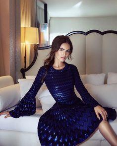 Camilla Belle Wears Glamorous Style for Hello! Fashion November 2016 by Carla Guler
