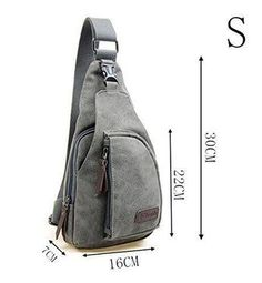 : Kalevel Cool Outdoor Sports Casual Canvas Unbalance Backpack Crossbody Sling Bag Shoulder Bag Chest Bag for Men : Clothing One Strap Backpack, Backpack Bags, Leather Backpack, Mochila Jeans, Holster, Backpack Pattern, Back Bag, Craft Bags, Handmade Handbags