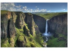 Maletsunyane auf Lesotho Reiseführer All About Africa, Guinness World, World Records, Earth, Landscape, Places, Travel, Outdoor, Sun Moon