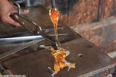 Souffleur de verre à Murano, Venise - Italie