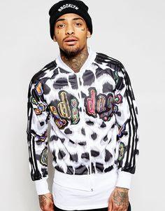 on sale 4f648 1da13 adidas Originals X Jeremy Scott Animal Superstar Track Jacket at asos.com