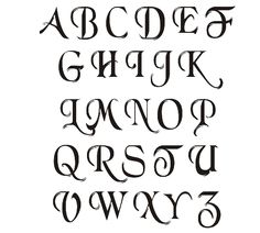 3 Ways to Write in Gothic Calligraphy - wikiHow