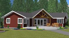 The Athabasca Classic - Prefabricated Home Plans Metal House Plans, Ranch House Plans, New House Plans, Small House Plans, House Floor Plans, Modular Home Plans, Modular Homes, Prefabricated Houses, Prefab Homes