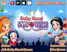 Join Baby Hazel to explore an exciting world of Snow White, who is mistreated by her stepmother and exiled to dense forest