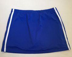 WILSON Womens Tennis Golf Running Skirt Skort Shorts Small S Blue And White #Wilson #SkirtsSkortsDresses